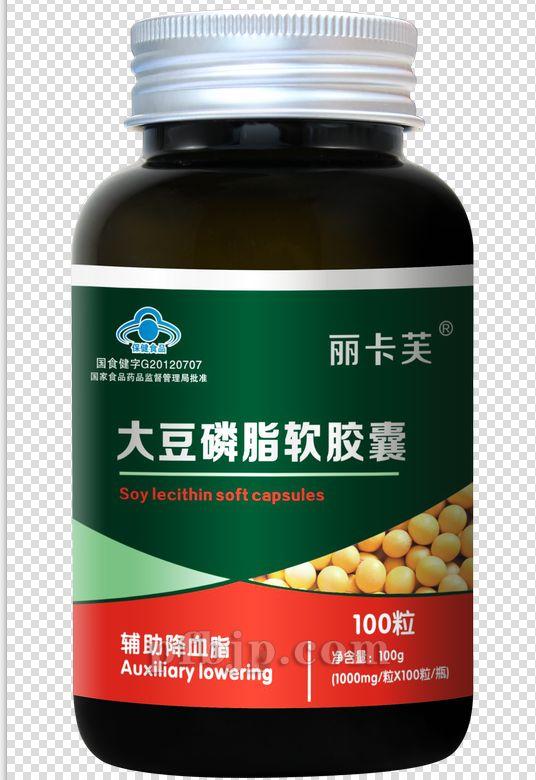 大豆磷脂软胶囊100粒